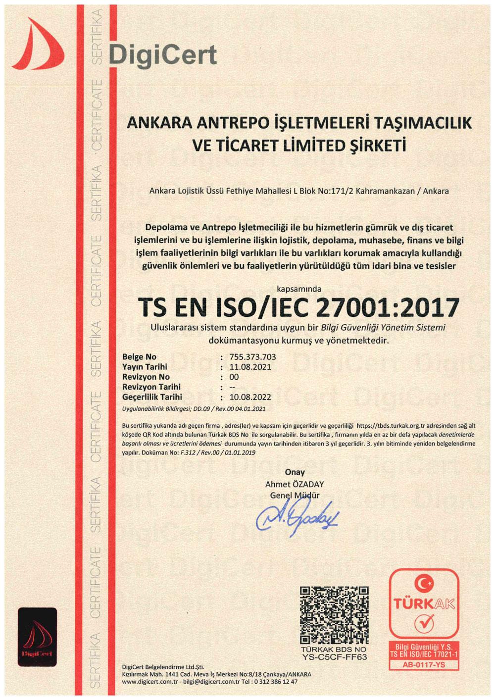 Antrepo-27001