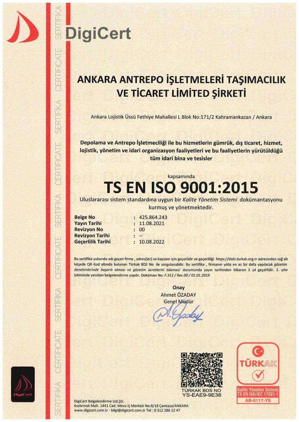 Antrepo-9001
